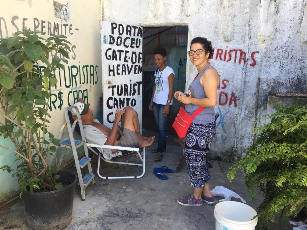 Brazil Rocinha Guided Visit