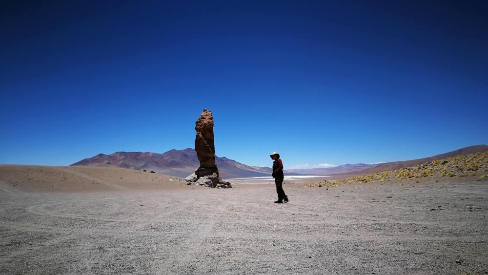 Monjes de la Pacana en Salar de Tara Desierto de Atacama