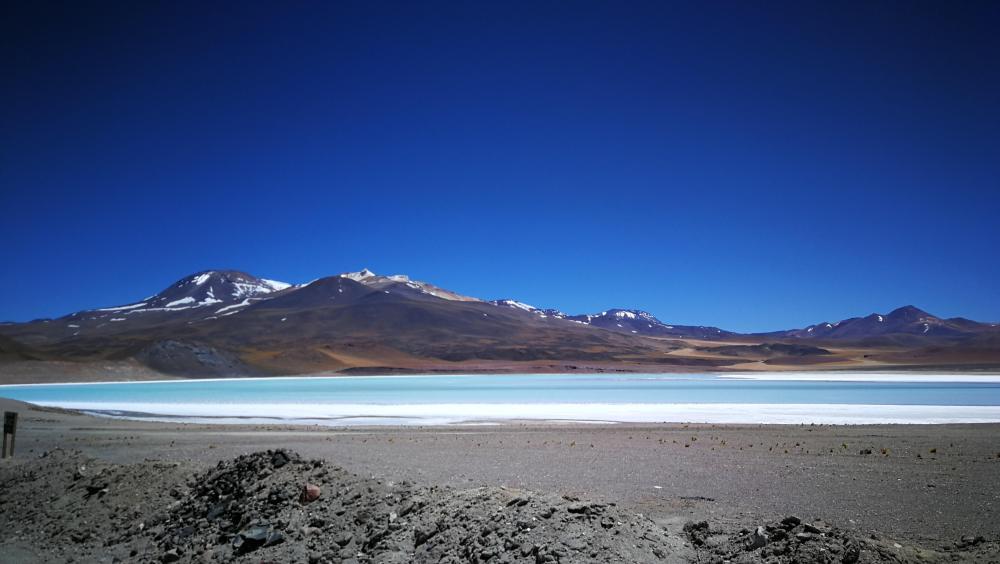 Laguna Tuyajto Atacama Chile