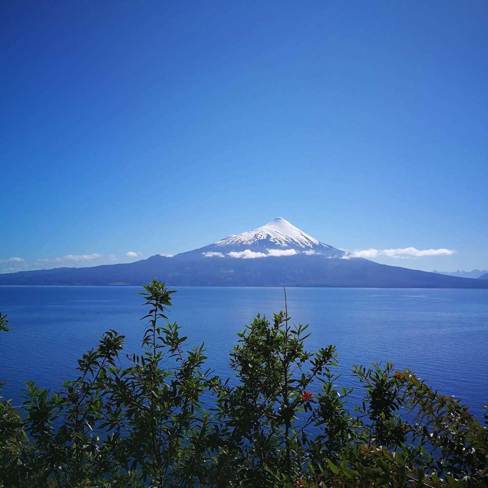 Lago Llanquihue y Volcán Osorno